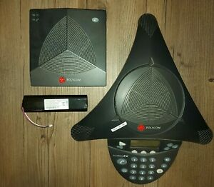 Polycom Soundstation 2w Dect 6 0 Wireless Conference Phone 2201 67800 160 Tested