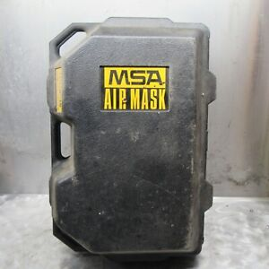 Msa Ultralite Ppe Air Pack Regulators And Mask And Case Model Number 5 447 1