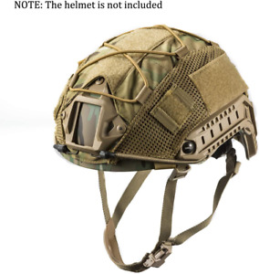 Head Hat Cover Helmet Tactical Multicam For XL Ops Core FAST PJ Airsoft Helmets $19.16