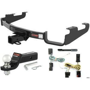 Curt Class 3 Hitch Tow Package W 2 5 16 Ball For Town Country Dodge Caravan