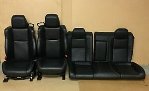 2015 2019 Dodge Challenger Hellcat Front Rear Seats Sepia Laguna Leather