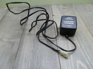 Eldon Poweride 6 Volt Battery Charger Vintage Tested Working Ride On Car