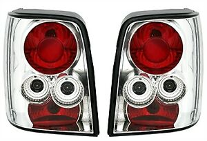 Clear Lexus Style Tail Lights Lamps For Vw Passat 3bg Station Wagon 11 2000 2005