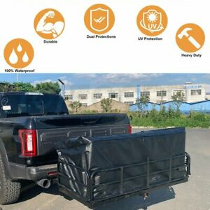 Car Suv Trunk Cargo Luggage Carrier Bag Storage Hitch Mount Waterproof For Jeep