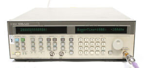 Hp Agilent 83752b 0 01 To 20ghz High Power Synthesized Sweeper