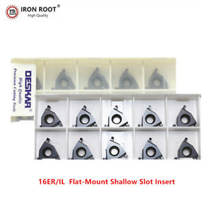 10p 16er il 1 2 Lda Cnc Cutting Tool Shallow Groove Carbide Insert For P m k