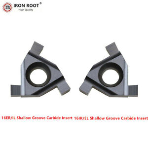 10p 16er il 3 0 Lda Cnc Cutting Tool Shallow Groove Carbide Insert For P m k