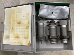 RCBS 45 Colt Carbide 3 Die Set 2 Seating Stems 19112 Free Shipping $89.00