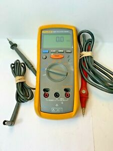 Fluke 1507 Digital Insulation Tester Multimeter Calibrated