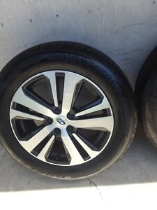 18 Subaru Outback Legacy Oem Wheels Rims Tires 2016 2017 2018 2019 2020 68861