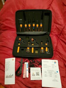 Testo Smart Probes Hvac r Complete Kit 0563 0007