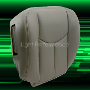 Driver Bottom Seat Cover Gray Fits 2003 2004 2005 2006 Chevy Tahoe Suburban