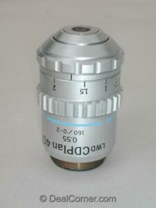 Olympus Lwd Cd Plan 40x Microscope Objective