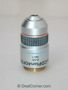 Olympus Lwd Cd Plan 40x Frp Microscope Objective