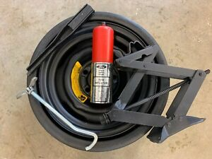 1969 1970 Ford Mustang Space Saver Rim And Tire Jack Jack Handle Inflator