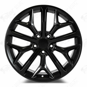 18 Wheels Satin Black Rims Si Style Fit 5x114 3 Honda Accord Civic Sedan Coupe