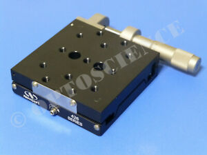 Newport 426 Precision Linear Translation Stage With Sm 25 Micrometer