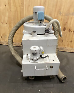 Used Dust Collector With 1 2 Hp 3 Phase Induction Motor And 1 8 Hp Coolant Pump