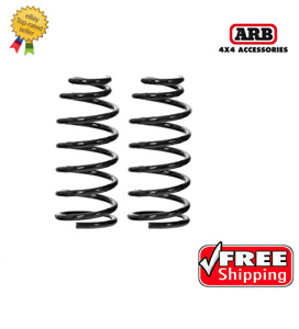 Arb 4 00 220 Lbs Ome Front Coil Springs For Jeep Wrangler Tj 1997 2006 2939
