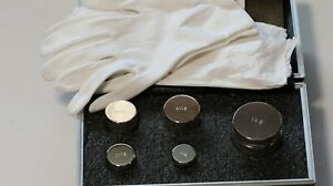A Set Of 5 Calibration Weights