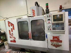 Used 1997 Haas Vf 3 Cnc Vertical Machining Center 7500 Rpm Cat 40 Rigid Tap