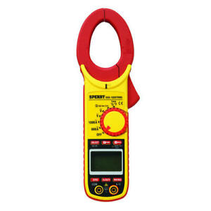 Portable 10 Function Digital Snap Around Multimeter Continuity Resistance Tester