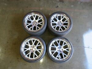 Maserati Quattroporte Aftermarket Vossen Wheel Set 20 Used
