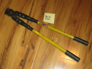 Cable Cutters H k Porter 25 1 2 Yellow black Model 0290fcs 500 Mcm