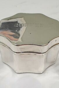 Antique Silver Plate Picnic Coffee Container