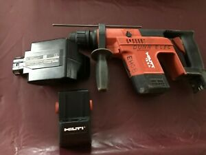 Hilti Te5a 24v Cordless Hammer Drill With Battery Adapter No Charger