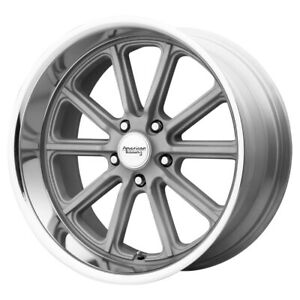 Staggered american Racing Vn507 Rodder 20x8 20x9 5 5x5 0mm Silver Wheels Rims