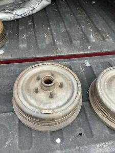 Nos 1963 1965 Ford Galaxie 427 Front Brake Drums Very Rare