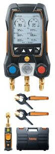 Testo 550s Smart Digital Manifold Kit With Wireless Temperature And Vacuum