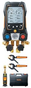 Testo 557s Smart Digital Manifold Kit With Wireless Temperature And Vacuum