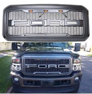 Ford F 250 F 350 Front Grille Raptor Style Guard For 11 16 2011 2016