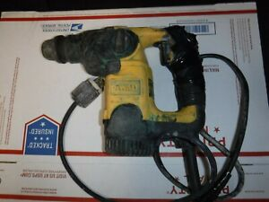 Dewalt D25303 1 Sds Rotary Hammer Drill For Parts Or Repair Read
