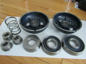 9 piece Ammco Hubless Big Bore Truck Adapter Used Like New