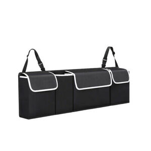 Car Seat Back Organiser Storage Bag Organizer Trunk Vehicle Interior Accessory