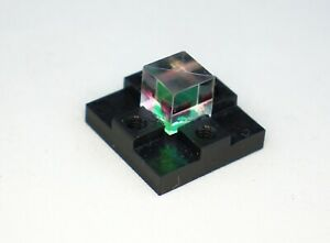 Melles Griot 03bsl043 10 0mm Non polarizing Cube Beam Splitter W base
