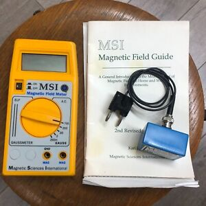 Msi Magnetic Field Meter With Mag Check Gaussmeter