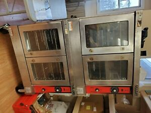 Vulcan Double Stack Electric Convection Oven Vc4ed 3