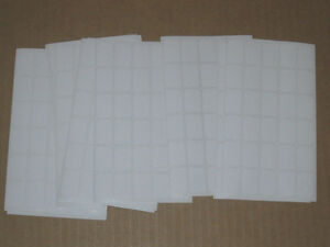 540 Blank Garage Yard Sale Rummage Stickers Price Labels White C My Other Items
