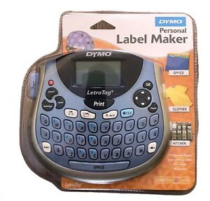 Dymo Letratag Lt 100t Personal Label Maker Portable New Sealed