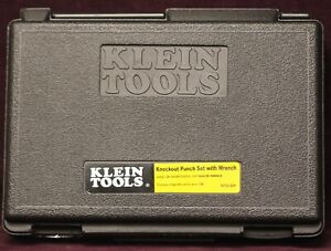 Klein Tools 53732 sen Knockout Punch Set W ratcheting Wrench