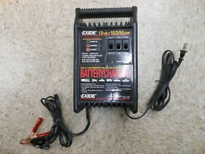 Exide 12v 10 2 55amp Fully Automatic Battery Charger Model 7037214 10900 Tested