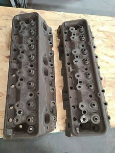 1965 Chevy Small Block L79 3782461 Cylinder Heads Hi Perf Camel Hump