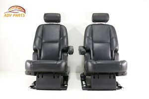 Chevy Tahoe Gmc Yukon Escalade Rear 2nd Second Row Seat Seats Oem 07 14 set