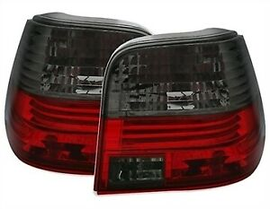 Smoked Tail Lights Rear Lamps For Vw Golf Mk4 1998 2002 Model