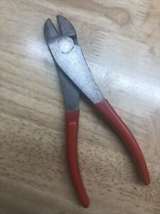 Snap On 388acp 8 Inch Vectoredge High Leverage Diagonal Cutter red Nice Cond