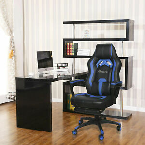 Office Gaming Chair Racing Pu Massage Executive Computer Desk Seat Swivel Chair